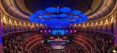 Live at the Albert Hall (Pat Charles) Tags: london england unitedkingdom uk travel tourism nikon royal albert hall prince concert classical music performance perform sing singing playing instruments orchestra band symphony chamber interior architecture curves leadinglines lights night arches dome