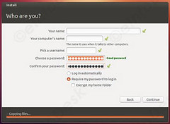 username password setting (eInfoDesk) Tags: how install ubuntu pc or laptop tutorial with pictures step by method