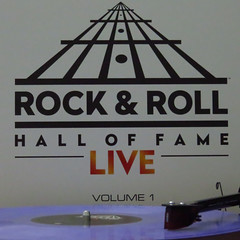 Volume 1 of the Rock & Roll Hall of Fame Live series on Prince Tribute Edition purple vinyl. (allremixes) Tags: rock roll hall fame live volume 1 chuck berry bruce springsteen e street band al green jeff beck jimmy page ron wood joe perry flea metallica james taylor cream day mick jagger tom petty lynne steve winwood dhani harrison prince vinyl collection