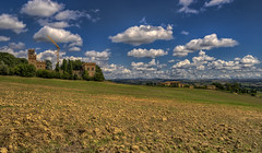 La Torre a Bibbiano (Frags of Life) Tags: outdoors beauty castle tranquilscene italianculture traveldestinations day builtstructure southerneurope photography idyllic colour italy nobody landscape landscaperenaissance tuscany tree horizontal