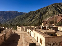 Purmamarca, Argentina (MJR96) Tags: argentina argentine purmamarca south america latinamerica southamerica latinoamerica red rock landscape dust desert northern dusty brown beauty beautiful street town pueblo village view holiday vacation color colour jujuy