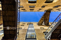 Shad Thames, London, UK (davidgutierrez.co.uk) Tags: london architecture art city photography davidgutierrezphotography nikond810 nikon urban travel people color londonphotographer photographer bridge uk lookingup vertical street bermondsey building blue colors colours colour europe beautiful cityscape davidgutierrez structure ultrawideangle d810 contemporary arts architectural residential design abstract buildings shadthames centrallondon england unitedkingdom  londyn    londres londra capital britain greatbritain afsnikkor1424mmf28ged 1424mm