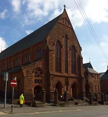 Eaglais an Naoimh Pheadar, Partaig, Glaschu /  St Peter's Church, Partick, Glasgow (Rhisiart Hincks) Tags: glasgow glaschu church eaglais partick partaig scotland alba