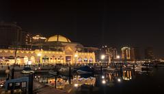 The Pearl! (aliffc3) Tags: thepearl qatar sonyrx100iv nightshot colors lighting reflections travel