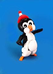 Chillful William (-Tremah-) Tags: chilly willy cartoon penguin lego afol cute
