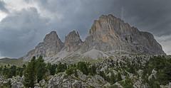 Storm Brewing (DWH284) Tags: italy dolomites sella langkofel sassolungo valgardena mountain storm sudtirol