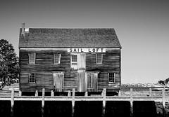 Salem Sail Loft (Dalliance with Light) Tags: dock building pier wharf ma bw ocean sailloft salem massachusetts unitedstates us