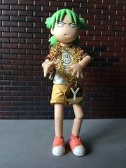 Grandmaster Y's Bling (Sasha's Lab) Tags: yotsuba gold flashy shiny necklace chain y girl hiphop urban