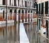 Venice (Raluca Melania) Tags: venice italy flood reflexions venezia aquaalta december2008