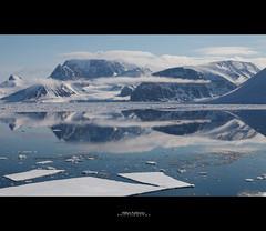 Spitsbergen (Hkon Kjllmoen, Norway) Tags: ocean light sun mountains cold ice water beautiful norway calm svalbard arctic clear mines spitsbergen isfjorden longyearbyen barents abigfave anawesomeshot mygearandme hkonkjllmoen wwwkjollmoencom