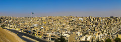 View From Citadel Over City Of Amman, Showing Raghadan Flagpole, Jordan (Eric Lafforgue) Tags: city horizontal skyline architecture outdoors photography day cityscape flag amman middleeast citylife nobody nopeople jordan identity arabia patriotism waving clearsky jordanien traditionalculture jordanie jordania 152 nationalflag capitalcities  giordania traveldestinations colorimage  hashemitekingdomofjordan buildingexterior  jordani rdn alurdun jordnia  yordania colourpicture  iordania   jordnsko raghadanflagpole