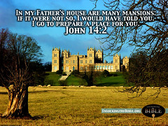 """John 14:2 """"In my Father's House are Many Mansions..."""" (UnlockingTheBible) Tags: desktop wallpaper art beautiful john heaven god background free images christian backgrounds bible 142 scriptures verse"""