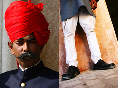 jodhpur style - india (Emmanuel Catteau photography) Tags: travel portrait india man heritage tourism face fashion holidays photographer reporter style traveller clothes national journey planet conde lonely tradition geo geographic rajasthan nast jodhpur trouser catteau wwwemmanuelcatteaucom