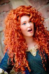 Merida (abelle2) Tags: princess disney disneyworld merida pixar brave wdw waltdisneyworld magickingdom fantasyland disneyprincess fairytalegarden disneypixar princessmerida