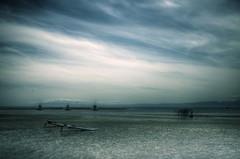 (**sione**) Tags: longexposure sea silhouette pentax  hdr shonan