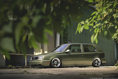 David Bruno's SLAW-Built Mk3 Volkswagen Golf GTI on CCW LM5's (Jonathan_DeHate) Tags: