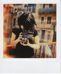 (santisss) Tags: polaroid sx70 girona instant impossible yashicad impossibleproject theimpossibleproject coolfilm