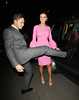 Mario Falcone and Lucy Mecklenburgh The wedding of McFly's Tom Fletcher and Giovanna Falcone in Marylebone - Departures London, England