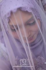 Engagement Portraiture - Syahida (Azizil Sedek) Tags: wedding photography engagement photographer purple hijab fotografi perkahwinan malaywedding weddingphotographer tunang weddingphotography pertunangan jurugambar syahida