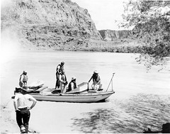 01873   Grand Canyon Nat Park: Historic River Photo (Grand Canyon NPS) Tags: adventure unknown guide runner pioneer boatman boater rivercolorado riverrunnergrandcanyonnationalparkcoloradoriver