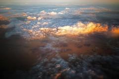 sunset above jordan