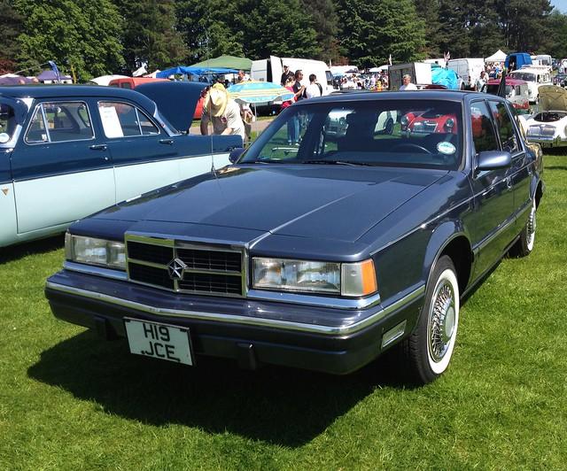old usa car american dodge dynasty