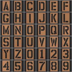 Stencil Letters & Numbers (Leo Reynolds) Tags: fdsflickrtoys photomosaic alphabet alphanumeric letterset 0sec abcdefghijklmnopqrstuvwxyz0123456789 hpexif groupfd mosaicalphanumeric xleol30x xphotomosaicx xxx2012xxx
