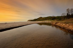 """Otter Creek"" Sleeping Bear Dunes National Lakeshore (Michigan Nut) Tags: sunset usa beach nature landscape photography midwest michigan shoreline lakemichigan sleepingbeardunes ottercreek eschroad michigannutphotography"