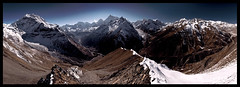 manaslu himalaya from samdo ri (doug k of sky) Tags: ri nepal trek la doug around himalaya himalayas puchi pang himal panbari chuli naike manaslu himalchuli mountainscapes samdo ngadi larkya kofsky artcat18871