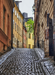 """Cobblestone Street"" in Gamla stan - Stockholm, Sweden (Coldpix) Tags: rain sweden stockholm tourists cobblestones gamlastan sverige vikings oldtown touristattraction royalpalace wetstreet photomix rainshower theroyalpalace wetcobblestones june2012 blinkagain ruby5 bestevergoldenartists theswedishroyalpalace stockholmsbiggesttouristattraction besteverexcellencegallery"