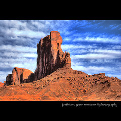 Camel Butte Monument Valley Arizona (j glenn montano 3) Tags: arizona monument utah sandstone butte glenn camel valley hdr montano justiniano