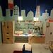 子供部屋の収納兼工作やオママゴトの遊び場コーナーの写真