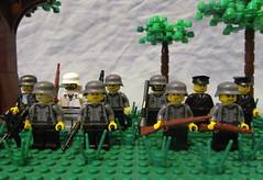 Germans (℣℩ƙ℩ℵℊ424) Tags: world 2 milan war lego nazi wwii ii german ww2 custom uli axis madge allies minifigure brickarms viking424 legouli