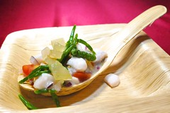 Chef Toner Local Snapper Ceviche