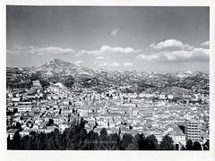 Ascoli com'era: panorama sulla citt visto dal colle dell'Annunziata (195?) (Orarossa) Tags: italy panorama italia marche ascolipiceno ascolicomera 0450205
