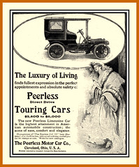 1904 Luxury of Living  Life The Peerless Girl - The Peerless Motor Car Co., Cleveland, Ohio (carlylehold) Tags: ohio opportunity woman robert girl car fashion mobile lady o cleveland email smartphone join motor contact tmobile 1904 keeper signup haefner carlylehold solavei haefnerwirelessgmailcom