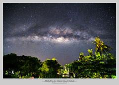 Milky Way Rise In Mabul (Born Amin) Tags: canon stars landscape view malaysia slowshutter milky sabah mabul milkyway mabulisland canon5dmkii canon1635mkii