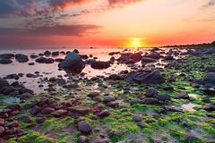 Domsten_DSC0208_1500 (MagnusL3D) Tags: ocean sunset sea summer sky sun seascape nature water rock stone clouds zeiss skne nikon rocks sweden outdoor sverige skaane domsten distagont2821 d800e