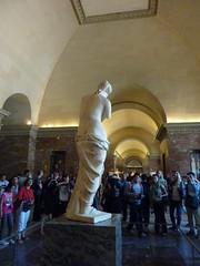 Venus de Milo - The Louvre (ashabot) Tags: venusdemilo louvre sculpture museums paris art museum people
