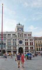 Piazza San Marco (H Sinica) Tags: venice nikon clocktower piazzasanmarco basilicasanmarco stmarkssquare d800 wingedlion