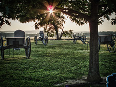 Guns and Limbers (jackdeblanc) Tags: pennsylvania gettysburg civilwar pickettscharge cemetaryridge cemeteryridge theangle