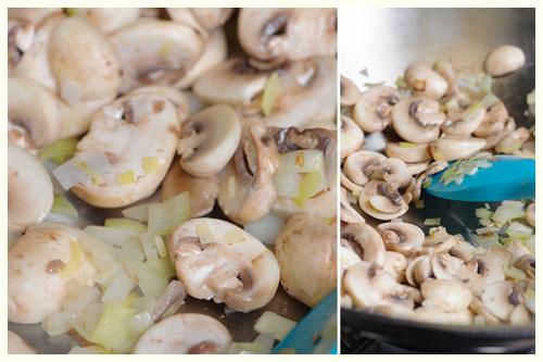 Parmesan Mushroom Ragout