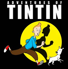 Adv. of TinTin concept cover (dillardma) Tags: illustration ink drawing character cartoon digitalpainting tintin conceptdrawing