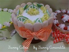 """Funny Cakes"":  tortas decorativas by Funny Amandita (Funny Amandita) Tags: docesdefeltro bolosdefeltro tortasdefeltro"