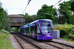 2554 Advert Tram (John A King) Tags: tram add woodside tramlink route4 2554