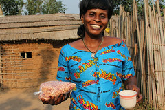 Celebrating the power of women and peanuts in tackling malnutrition