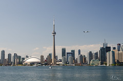 Up up and away (tony27502) Tags: toronto canada skyline nikon cntower 1755mmf28 d7000