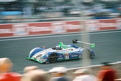 Pescarolo Sport Pescarolo C60 Hybrid-Judd LMP1 (Moments of Yesterday) Tags: france film 35mm eric 2006 mans le hours 24 franck amateur francais sébastien loeb sarthe montagny hélary