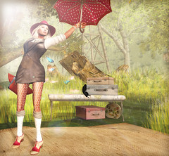 - rain -  #3 (FlowerDucatillon) Tags: flower fashion blog post secondlife pixel lamb erratic slupergirls flowerducatillon hairfair2012