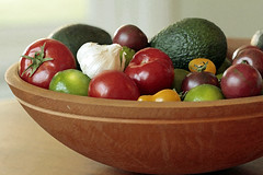 Bowl of Summer (Images Along My Way) Tags: avocado bowl garlic tomatos limes mygearandme mygearandmepremium mygearandmebronze